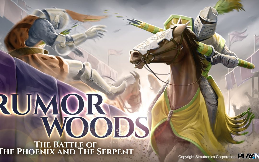 Rumor Woods: The Battle Begins Saturday at Noon!